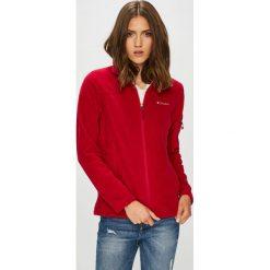 Columbia - Bluza Fast Trek II. Czerwone bluzy damskie Columbia, z dzianiny. W wyprzedaży za 179.90 zł.