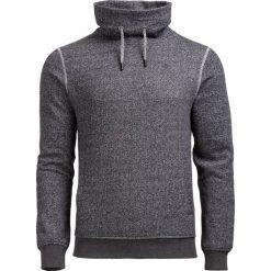 Bluza męska BLM604 - ŚREDNI SZARY MELANŻ - Outhorn. Szare bluzy męskie Outhorn, na jesień, melanż, z materiału. W wyprzedaży za 104.99 zł.