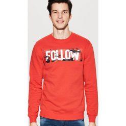 Bluza z nadrukiem - Czerwony. Czerwone bluzy damskie House, z nadrukiem. Za 79.99 zł.