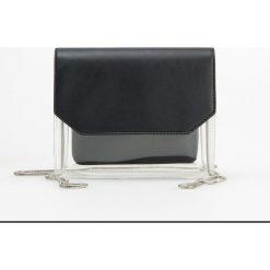 Transparentna torebka - Czarny. Czarne torebki do ręki damskie Reserved. Za 89.99 zł.