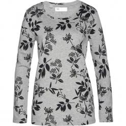 Bluza dresowa bonprix jasnoszary melanż + czarny. Czarne bluzy damskie bonprix, melanż, z dresówki. Za 69.99 zł.