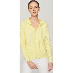 Bluza z kapturem - Żółty. Żółte bluzy damskie Reserved. Za 119.99 zł.