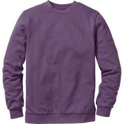 Bluza dresowa bonprix jagodowy. Fioletowe bluzy męskie bonprix, z dresówki. Za 44.99 zł.