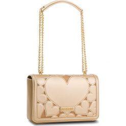 Torebka LOVE MOSCHINO - JC4046PP15LE000A Oro. Żółte torebki do ręki damskie Love Moschino, ze skóry ekologicznej. W wyprzedaży za 669.00 zł.