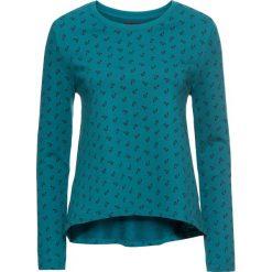 Bluza z nadrukiem, długi rękaw bonprix kobaltowy turkusowy z nadrukiem. Bluzy damskie marki KALENJI. Za 37.99 zł.