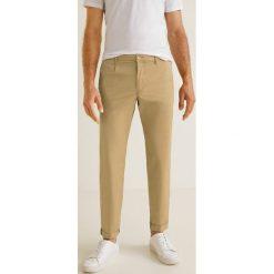 Mango Man - Spodnie Pascal. Eleganckie spodnie męskie marki Giacomo Conti. W wyprzedaży za 99.90 zł.