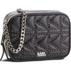 Torebka KARL LAGERFELD - 86KW3014 Black/Nickel. Czarne torebki do ręki damskie KARL LAGERFELD, ze skóry. W wyprzedaży za 779.00 zł.