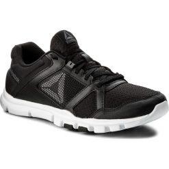 Buty Reebok - Yourflex Train 10 Mt BS9882 Black/White/Alloy. Czarne buty sportowe męskie Reebok, z materiału. W wyprzedaży za 179.00 zł.