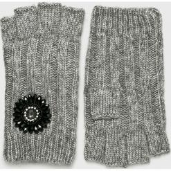 Liu Jo - Rękawiczki. Czerwone rękawiczki damskie Liu Jo, z dzianiny. Za 269.90 zł.