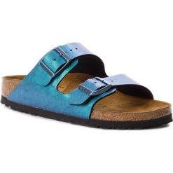 Klapki BIRKENSTOCK - Arizona Bs 1012393  Graceful Gemm Blue. Niebieskie klapki damskie Birkenstock, ze skóry ekologicznej. W wyprzedaży za 269.00 zł.