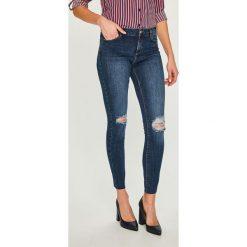 Answear - Jeansy. Niebieskie jeansy damskie ANSWEAR. Za 129.90 zł.