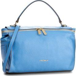 Torebka COCCINELLE - BA0 Atsuko E1 BA0 18 01 01 Azur 021. Niebieskie torebki do ręki damskie Coccinelle, w ażurowe wzory, ze skóry. W wyprzedaży za 849.00 zł.