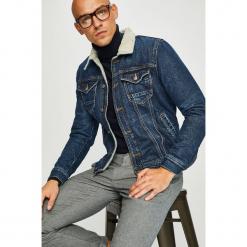 Guess Jeans - Kurtka Gale. Szare kurtki męskie Guess Jeans, z aplikacjami, z bawełny. Za 769.90 zł.
