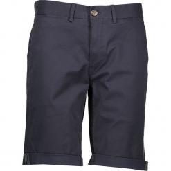 Spodnie chino - Slim fit - w kolorze granatowym. Niebieskie szorty męskie Ben Sherman, z aplikacjami, z materiału. W wyprzedaży za 152.95 zł.
