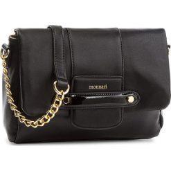 Torebka MONNARI - BAGA210 Black. Czarne torebki do ręki damskie Monnari, ze skóry ekologicznej. W wyprzedaży za 159.00 zł.