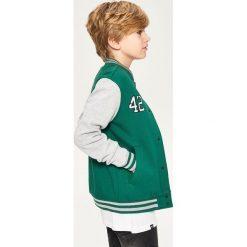 Bluza bejsbolówka - Khaki. Bluzy dla chłopców Reserved. Za 89.99 zł.
