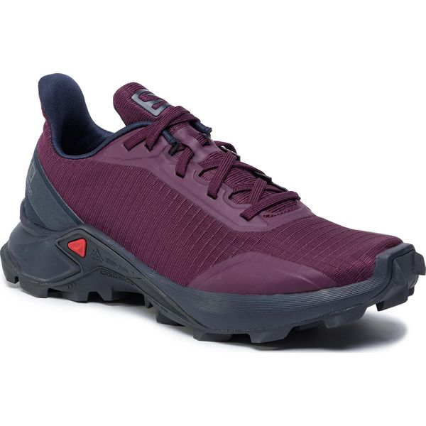 Buty SALOMON Trailster W 406118 20 W0 Crown BlueNavy BlazerPurple Opulence