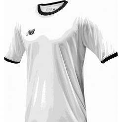 Koszulka treningowa - EMT6112WT. Szare koszulki sportowe męskie New Balance, na jesień, z materiału. Za 89.99 zł.