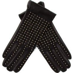 Rękawiczki Damskie TWINSET - Guanti AA8P3F  Bic. Nero/Oro. Rękawiczki damskie marki B'TWIN. W wyprzedaży za 429.00 zł.