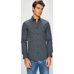 Only & Sons - Koszula. Szare koszule męskie Only & Sons, z bawełny, z klasycznym kołnierzykiem, z długim rękawem. W wyprzedaży za 129.90 zł.