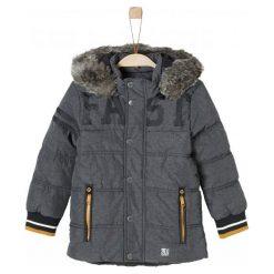 S.Oliver Kurtka Chłopięca Fast 122 Antracyt. Czarne kurtki i płaszcze dla chłopców S.Oliver, na zimę. Za 299.00 zł.