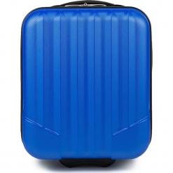 Walizka kabinowa V25-10-232-90. Niebieskie walizki damskie Wittchen. Za 79.00 zł.