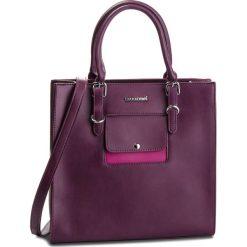 Torebka MONNARI - BAG2470-014 Violet. Czerwone torebki do ręki damskie Monnari, ze skóry ekologicznej. W wyprzedaży za 199.00 zł.