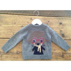 Minoti Chłopięcy Sweter Z Myszką 56 - 62 Szary. Szare swetry dla chłopców Minoti. Za 69.00 zł.