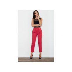 Spodnie M552 Czerwony. Czerwone spodnie materiałowe damskie Figl. Za 149.00 zł.