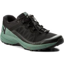 Buty SALOMON - Xa Elevate 401359 27 V0 Black/Balsam Green/Black. Czarne buty sportowe męskie Salomon, z materiału. W wyprzedaży za 369.00 zł.