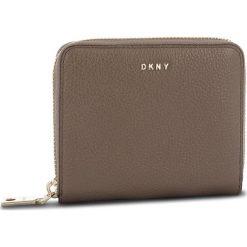 Duży Portfel Damski DKNY - Sm Zip Around R831A656 Desert DES. Brązowe portfele damskie DKNY, ze skóry. Za 509.00 zł.