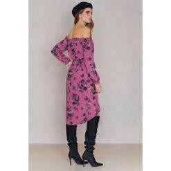 FAYT Sukienka Jack - Purple,Multicolor. Fioletowe sukienki damskie FAYT, z poliesteru, boho, z kopertowym dekoltem. Za 207.95 zł.