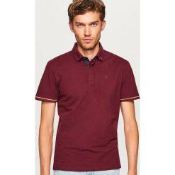 Koszulka polo - Bordowy. Czerwone koszulki polo męskie Reserved. Za 79.99 zł.
