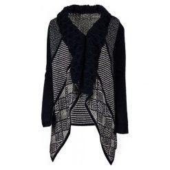 Desigual Sweter Damski Menta Xs Ciemnoniebieski. Czarne swetry damskie Desigual. W wyprzedaży za 347.00 zł.