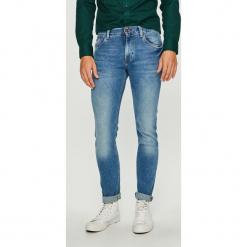 Tommy Hilfiger - Jeansy Bleecker. Niebieskie jeansy męskie Tommy Hilfiger. Za 399.90 zł.