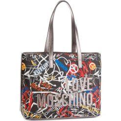 Torebka LOVE MOSCHINO - JC4092PP16LN0000  Nero. Czarne torebki do ręki damskie Love Moschino, ze skóry ekologicznej. W wyprzedaży za 559.00 zł.