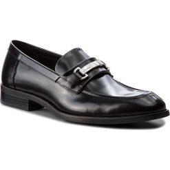 Półbuty CALVIN KLEIN - Carver F1362 Black. Czarne eleganckie półbuty Calvin Klein, z materiału. Za 719.00 zł.