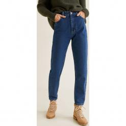Mango - Jeansy Mommy. Niebieskie jeansy damskie Mango. Za 139.90 zł.