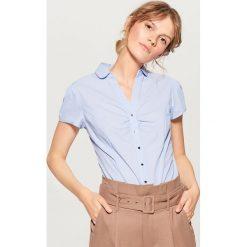 Koszula body - Niebieski. Niebieskie koszule damskie Mohito. W wyprzedaży za 59.99 zł.
