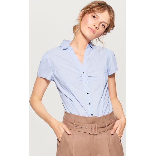 6fe7015bce582a Koszula body - Niebieski - Koszule damskie Mohito. W wyprzedaży za ...