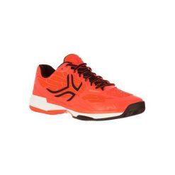 Buty tenisowe TS990 męskie na mączkę ceglaną. Czerwone buty sportowe męskie ARTENGO, z gumy. W wyprzedaży za 179.99 zł.