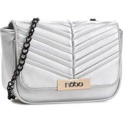 Torebka NOBO - NBAG-C4340-C022 Srebrny. Szare torebki do ręki damskie Nobo, ze skóry ekologicznej. W wyprzedaży za 119.00 zł.