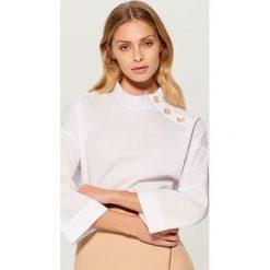 Koszula z szerokimi rękawami - Biały. Białe koszule damskie Mohito. Za 99.99 zł.