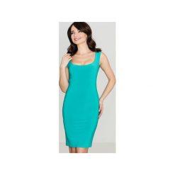 Sukienka K081 Zielony. Zielone sukienki damskie Lenitif. Za 99.00 zł.