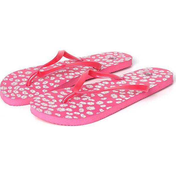9830830ec03ed Japonki w kolorze różowym - Czerwone klapki damskie marki Summer ...