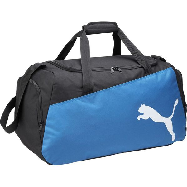3980faccd9552 Puma Torba Pro Training Medium Bag niebieska (072938 03) - Torby ...