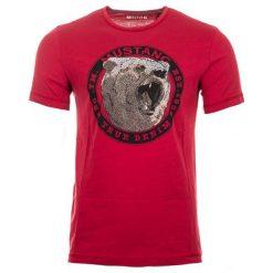 Mustang T-Shirt Męski, M, Czerwony. Czerwone t-shirty męskie Mustang. Za 128.00 zł.