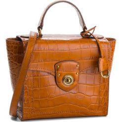 Torebka LAUREN RALPH LAUREN - Millbrook 431710885001 Brown. Brązowe torebki do ręki damskie Lauren Ralph Lauren, ze skóry. Za 1,479.00 zł.