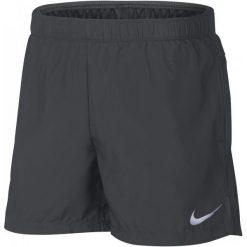 Nike Szorty Męskie M Nk Chllgr Short Bf 5in Anthracite L. Czarne krótkie spodenki sportowe męskie Nike, z materiału. Za 129.00 zł.