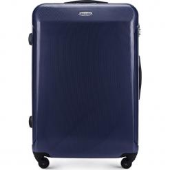 Walizka duża 56-3P-973-90. Niebieskie walizki damskie Wittchen, z gumy. Za 299.00 zł.